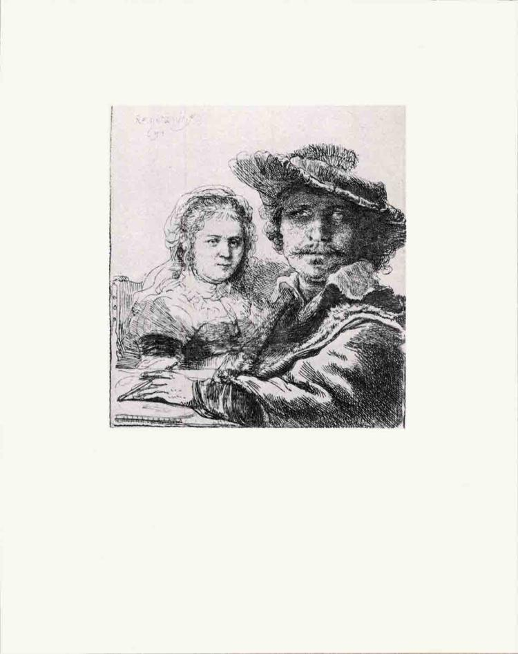 van Rijn Rembrandt - Rembrandt and his Wife Saskia - 1968