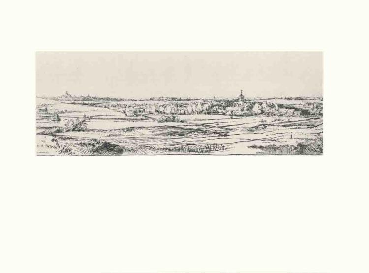 van Rijn Rembrandt - The Goldweigher's Field