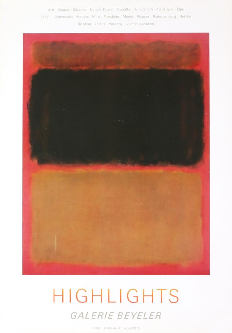 Mark Rothko - Highlights - 1972