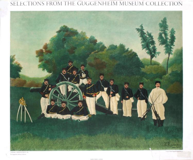Henri Rousseau - Artillery men
