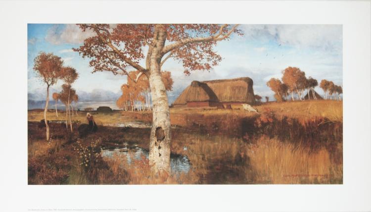 Otto Modersohn - Herbst im Moor