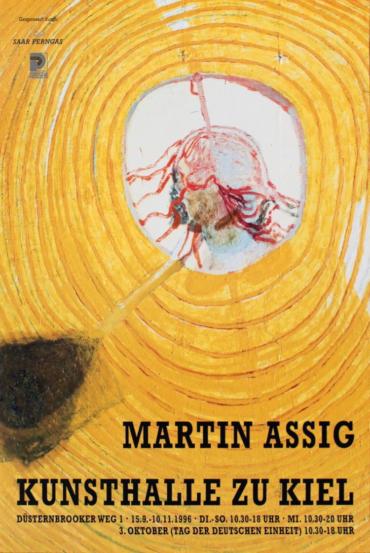 Martin Assig - Kunsthalle Zu Kiel - 1996