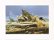 Caspar David Friedrich - The Frozen Arctic