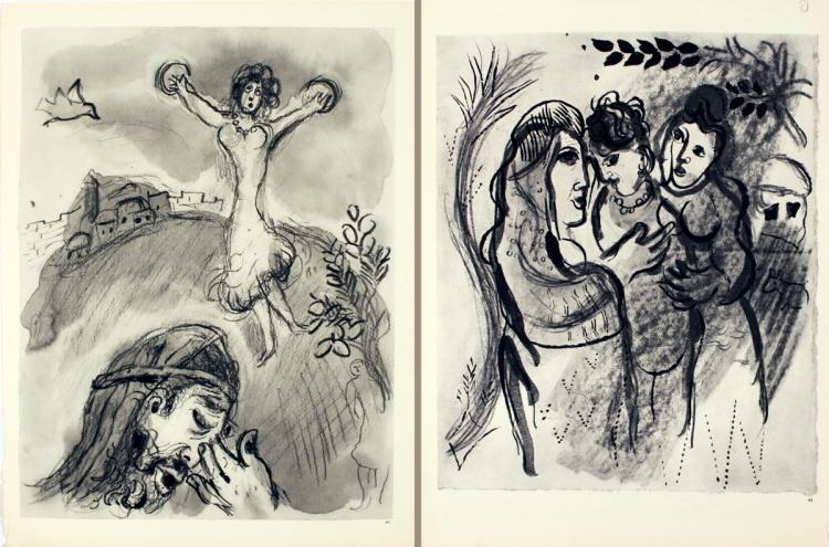 Marc Chagall - Pages 41 & 42
