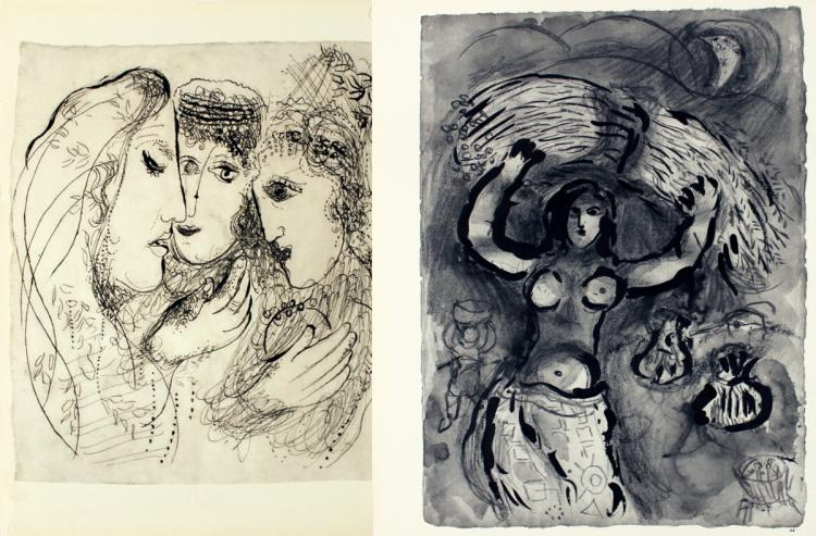 Marc Chagall - Pages 43 & 44