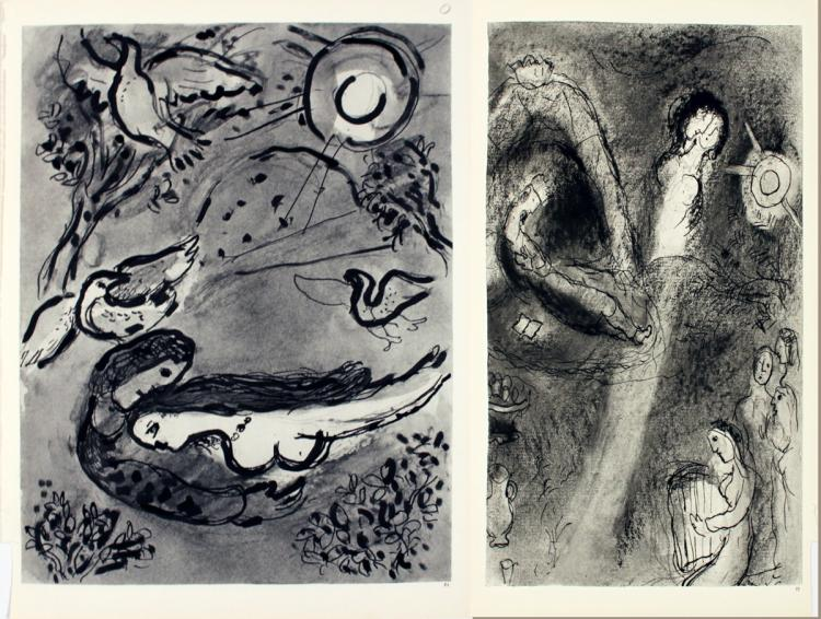 Marc Chagall - Pages 71 & 72