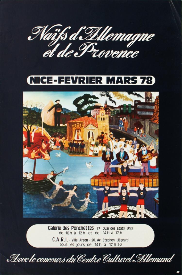 Naifs D'Allemagne et de Provence - 1979