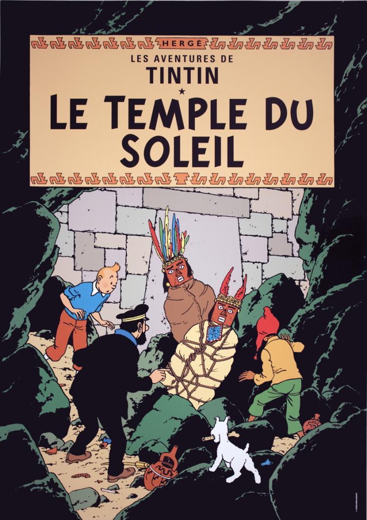 Herge - Les Aventures de Tintin: Le Temple du Soleil