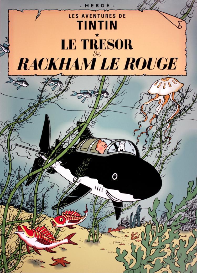 Herge - Les Aventures de Tintin: Le Tresor de Rackham le Rouge