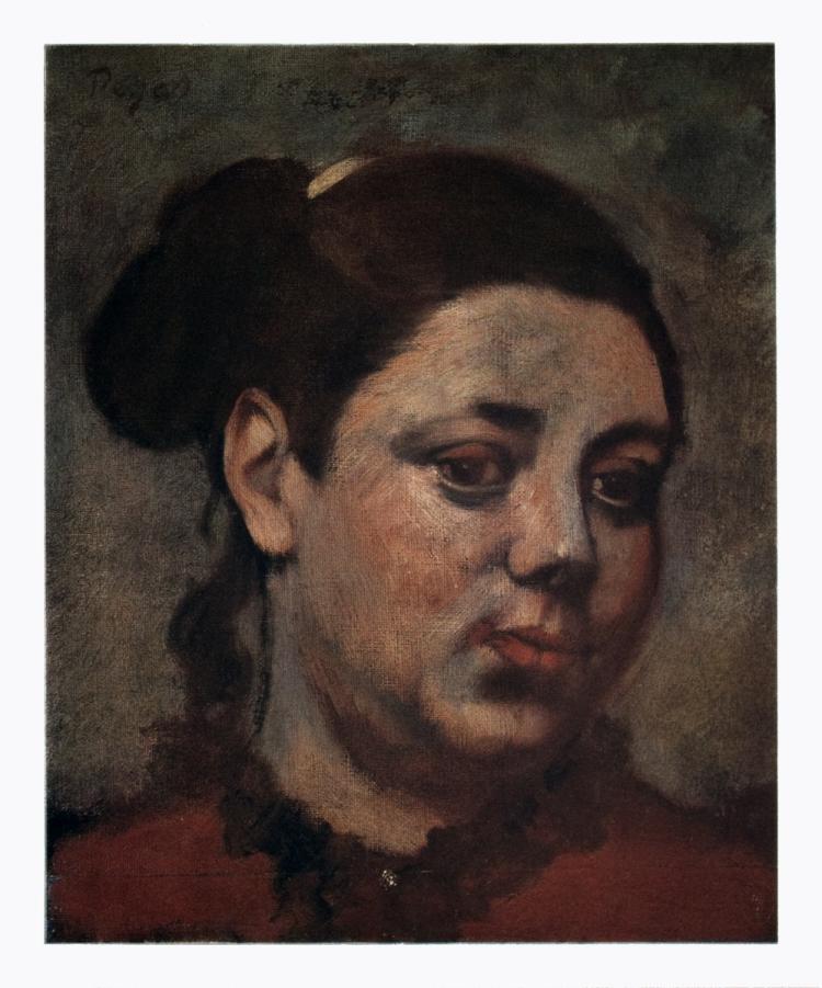 Edgar Degas - Portrait