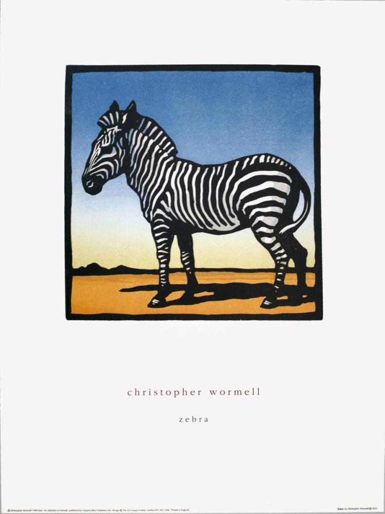 Wormell - Zebra - 1990