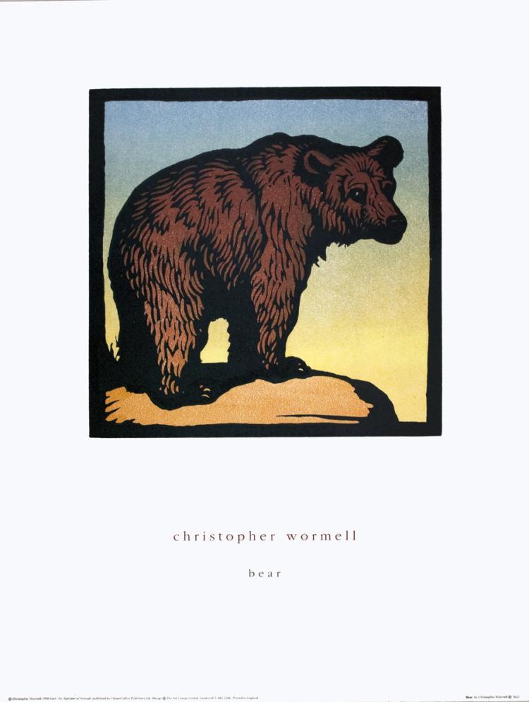 Wormell - Bear - 1990
