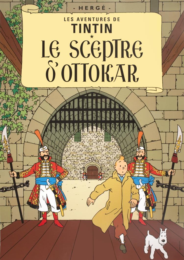 Herge - Les Aventures de Tintin: Le Sceptre d'Ottokar