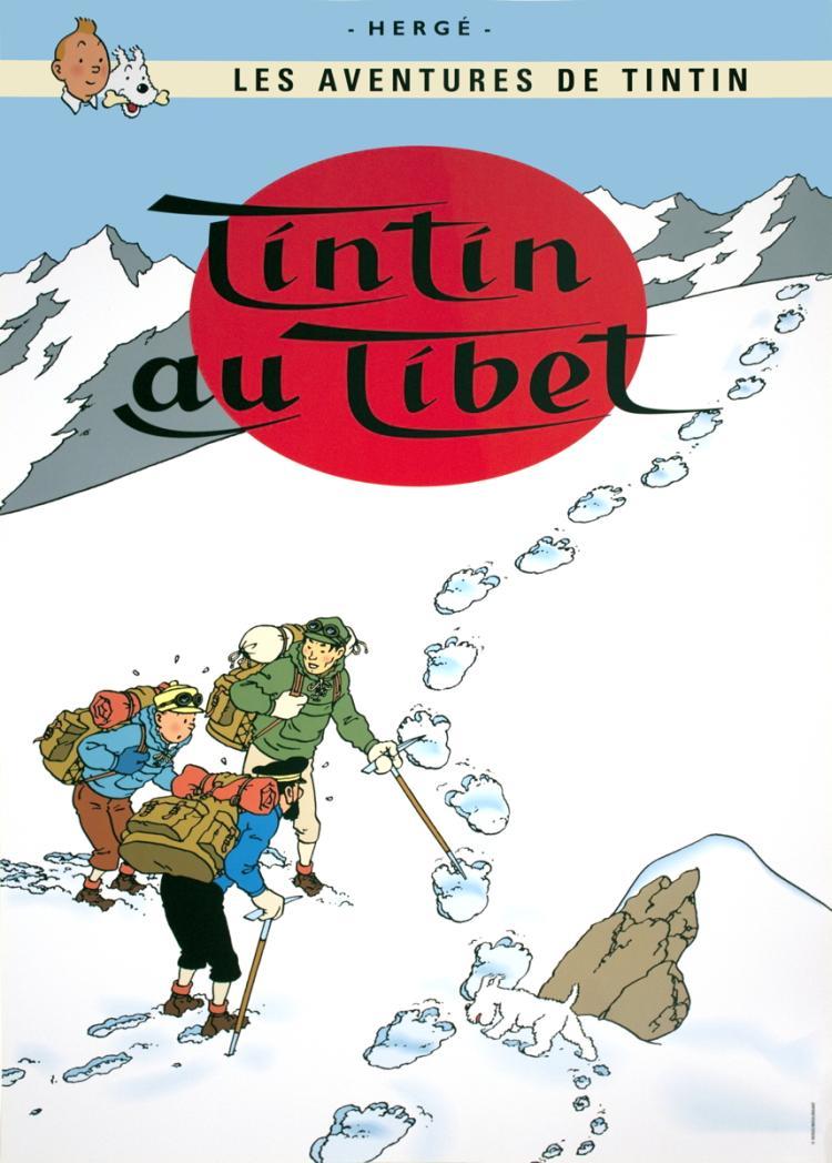 Herge - Les Aventures de Tintin: Tintin au Tibet