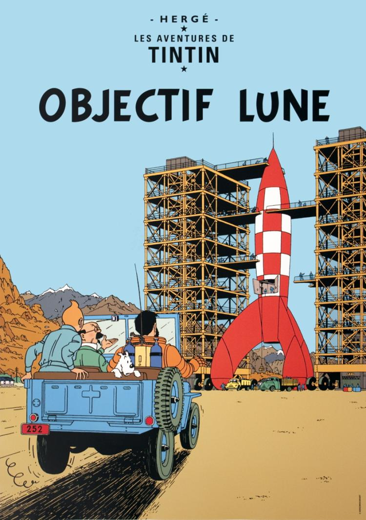 Herge - Les Aventures de Tintin: Objectif Lune - 2012