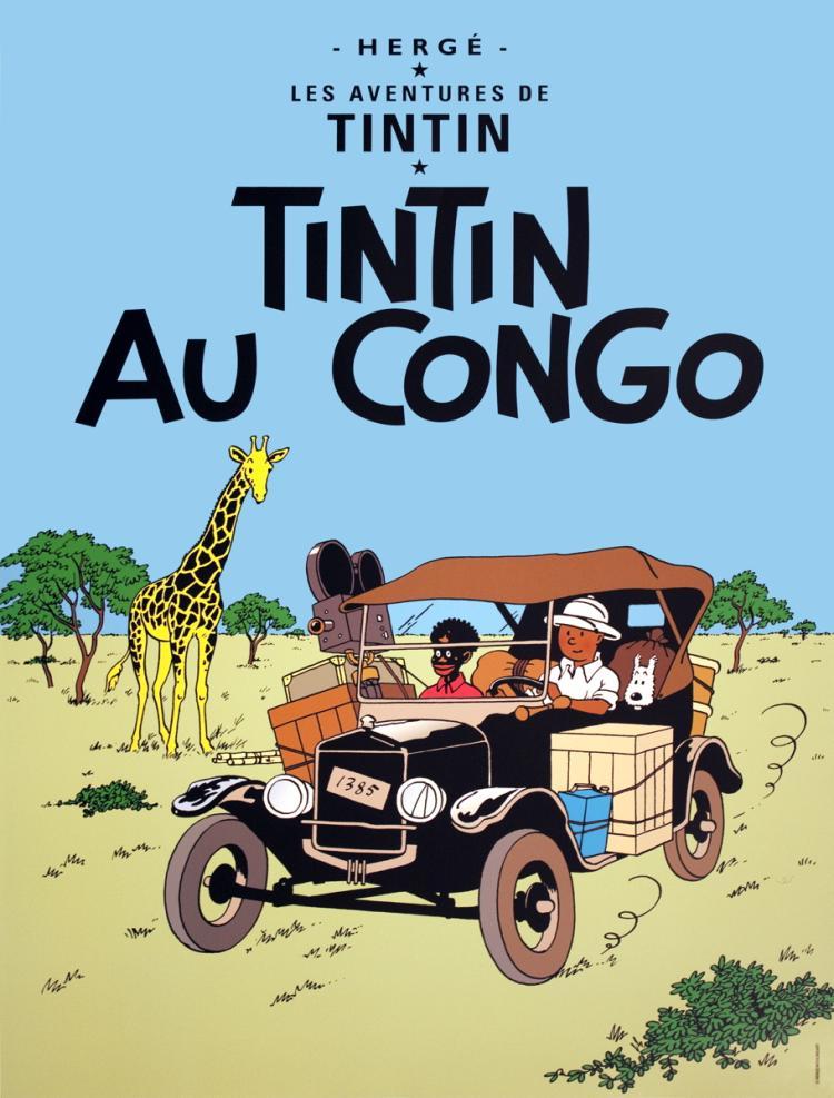 Herge - Les Aventures de Tintin: Tintin au Congo
