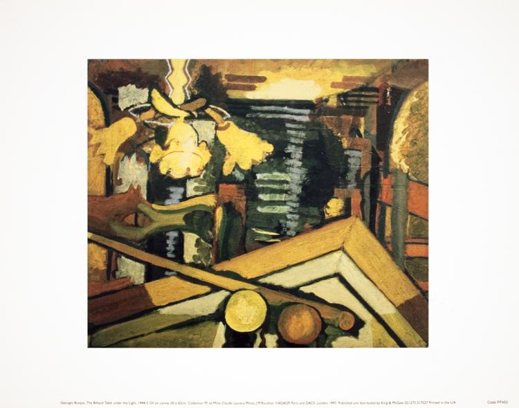 Georges Braque - The Billiard Table Under the Light - 1997