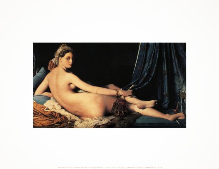 Dominique Ingres - La Grande Odelisque - 1995