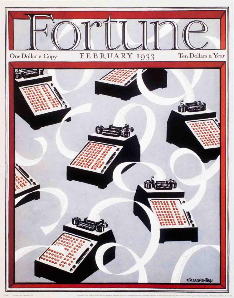 F.V. Carpentery - Fortune Cover (February 1933) - 1999