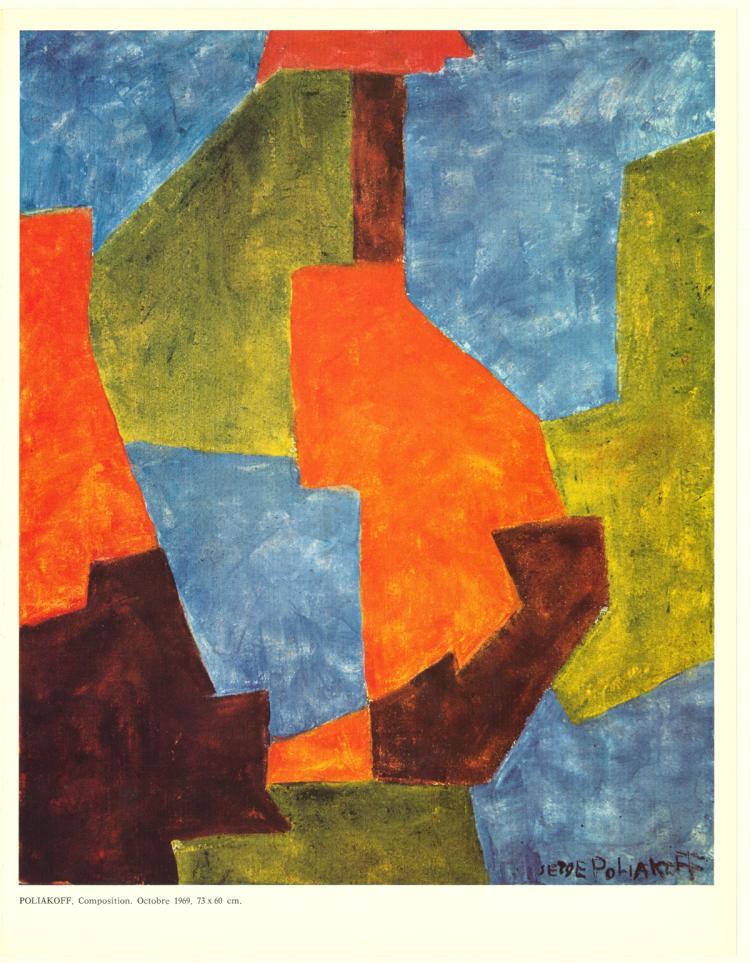 Serge Poliakoff - XXe Siecle no. 35 - 1970