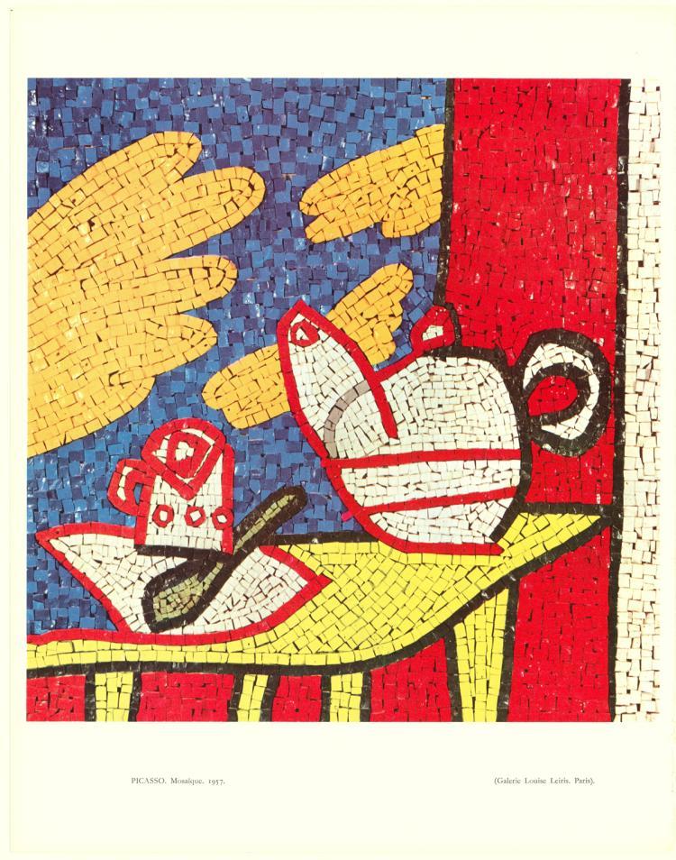 Pablo Picasso - Mosaic - 1961