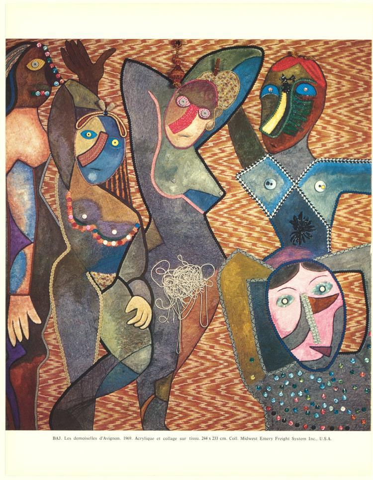 Enrico Baj - Les Demoiselles D'Avignon - 1972