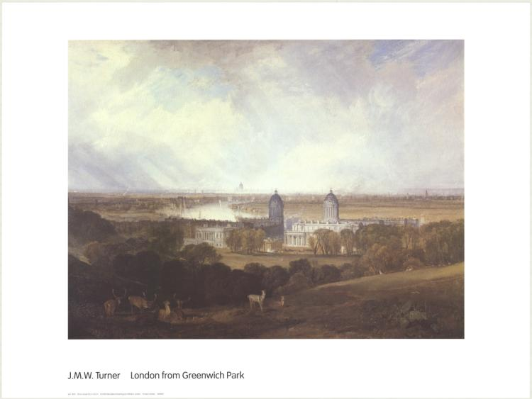 J.M.W. Turner - London from Greenwich Park - 2000