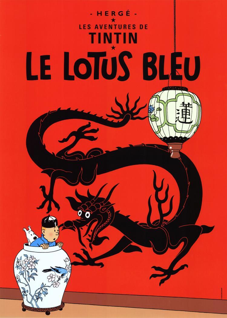 Herge - Le Lotus Bleu