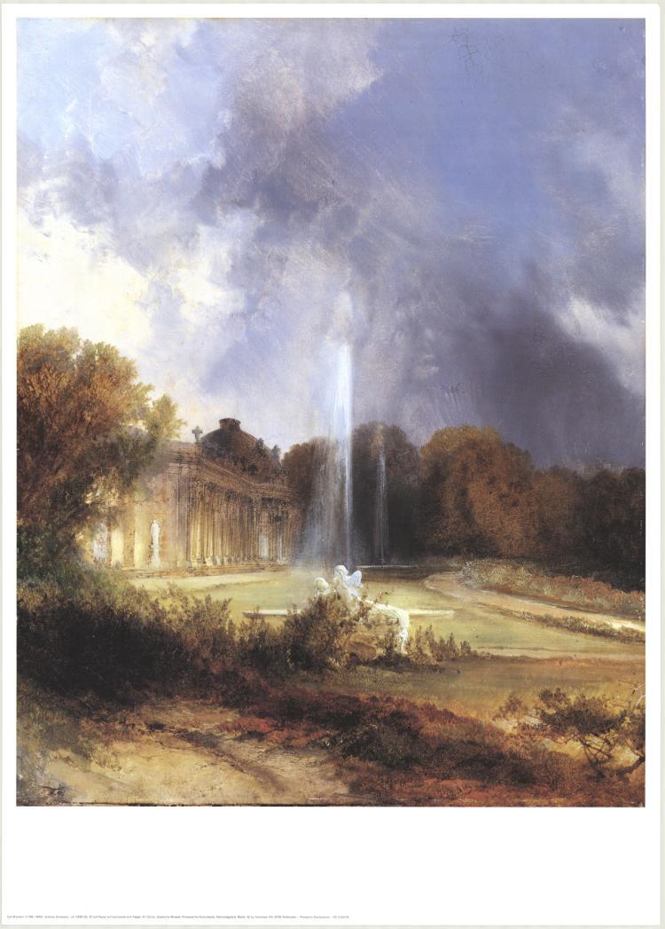 Carl Blechen - Sanssouci Palace