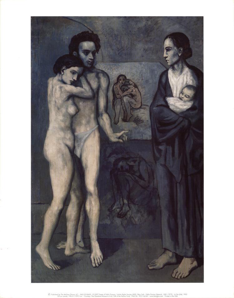 Pablo Picasso - La Vie (Life)