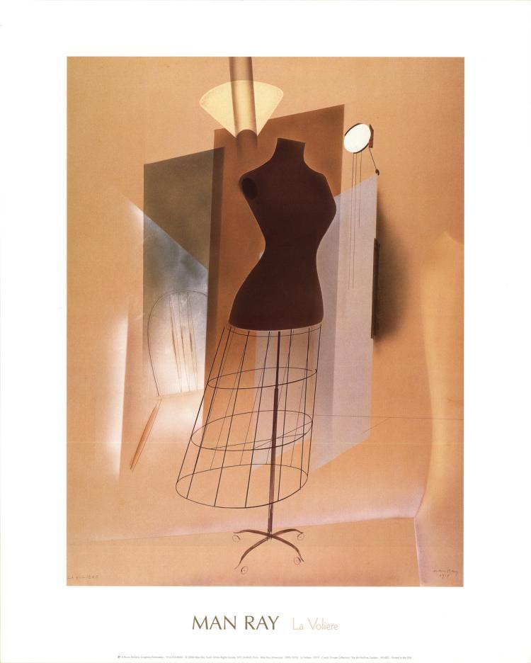 Man Ray - La Voliere