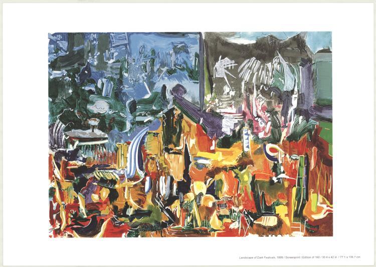 Larry Dinkin - Landscape of Dark Festivals