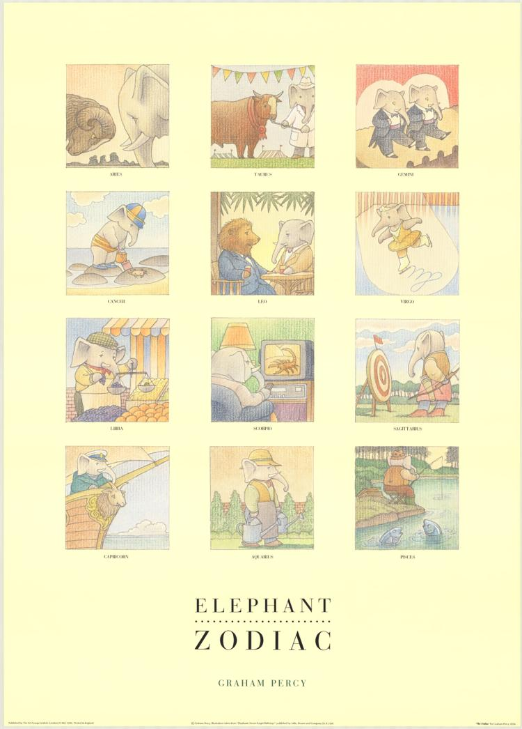 Graham Percy - Elephant Zodiac