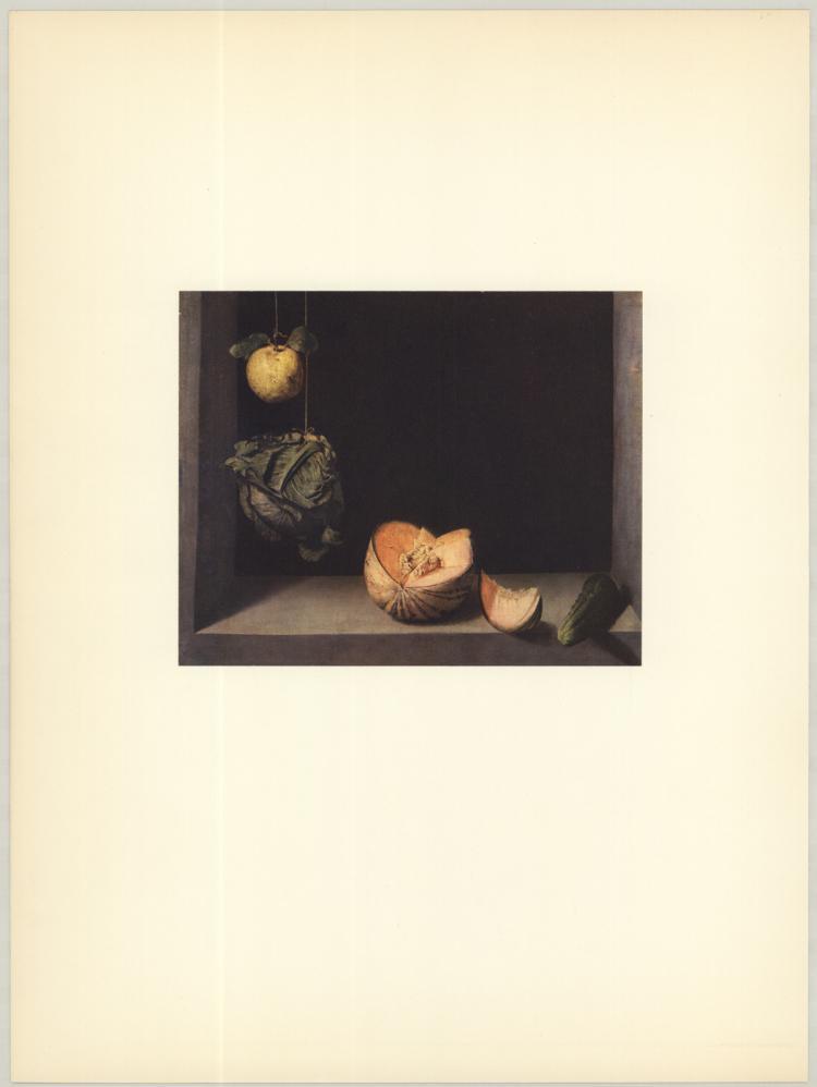 Cotan - Coing, Chou, Melon et Concombre - 1953