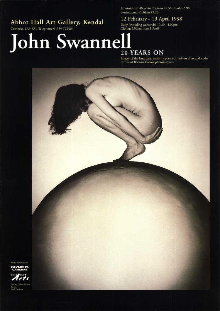 John Swannell - Untitled (Woman on Moon) - 1998