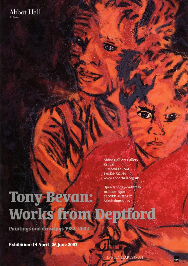 Tony Bevan - Works from Deptford - 2003