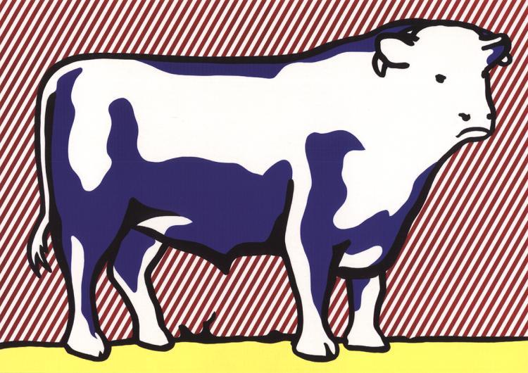 Roy Lichtenstein - Bull VII