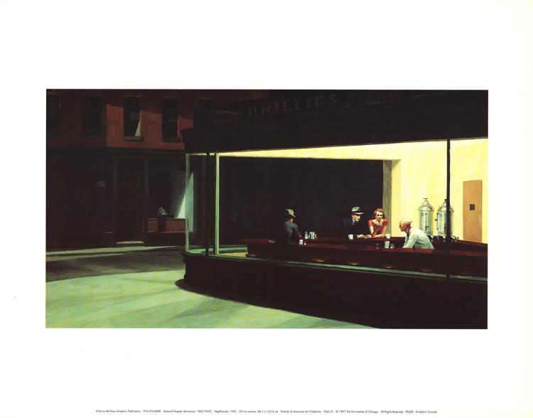 Edward Hopper - Nighthawks - 1997