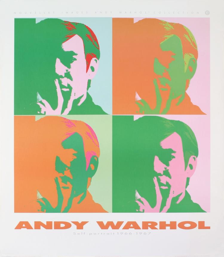 Andy Warhol - Four Self Portraits - 1989