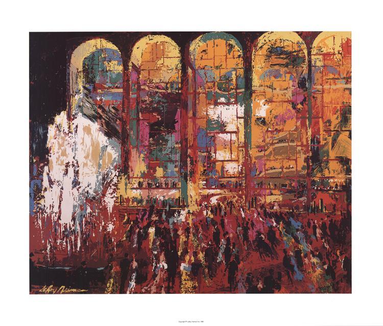 Leroy Neiman - Metropolitan Opera - 1980