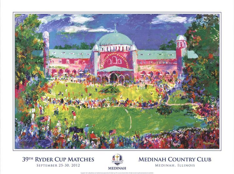 Leroy Neiman - 39th Ryder Cup, Medinah - 2011