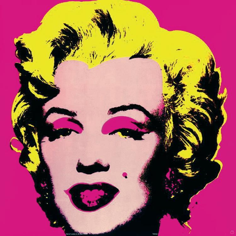Andy Warhol - Marilyn Pink (Lg)