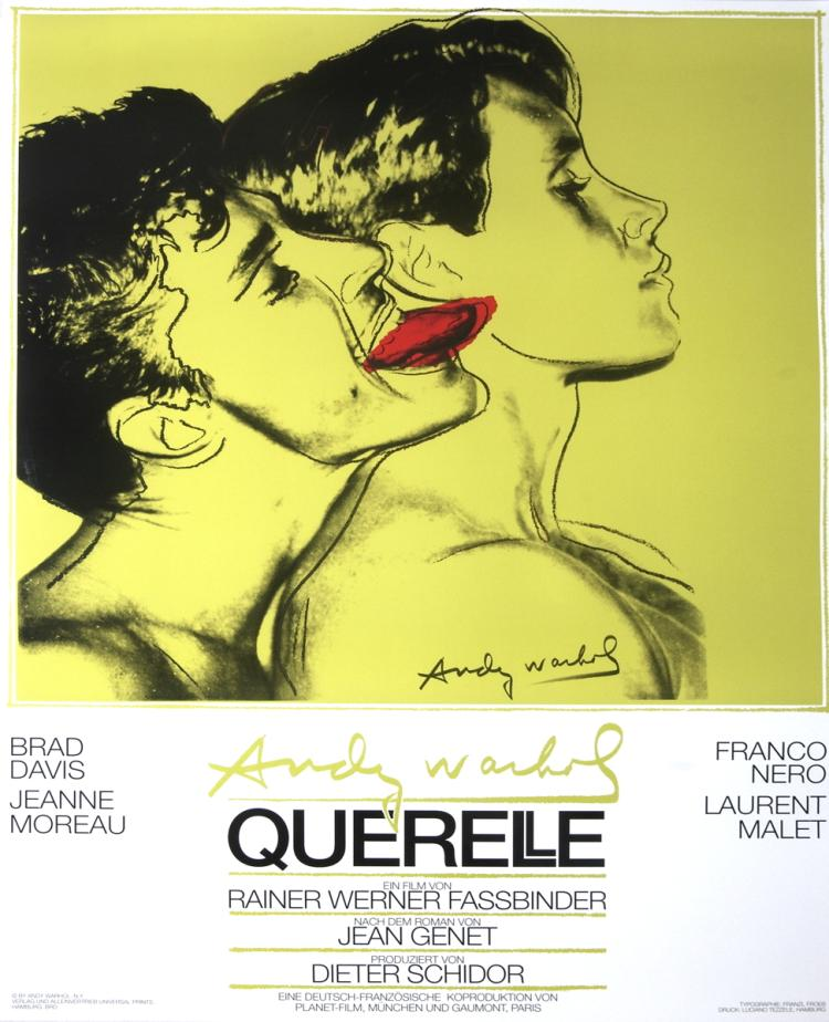 Andy Warhol - Querelle Green - 1983