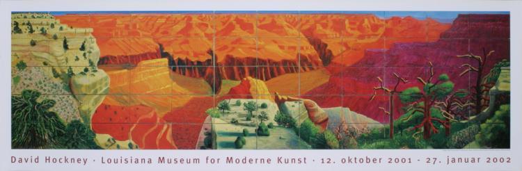 David Hockney - A Bigger Grand Canyon - 2002