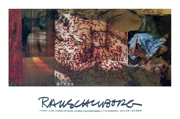 Robert Rauschenberg - Wetterling Galleries