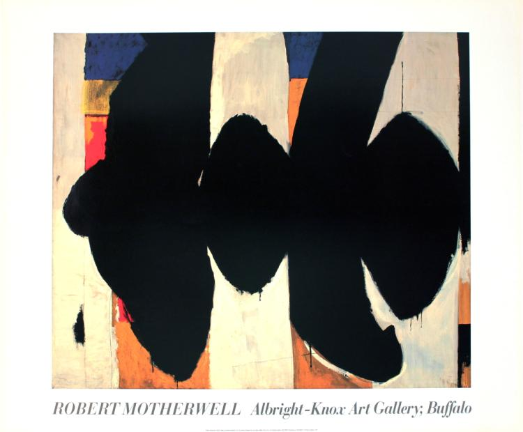 Robert Motherwell - Elegy to the Spanish Republic #34 - 1975