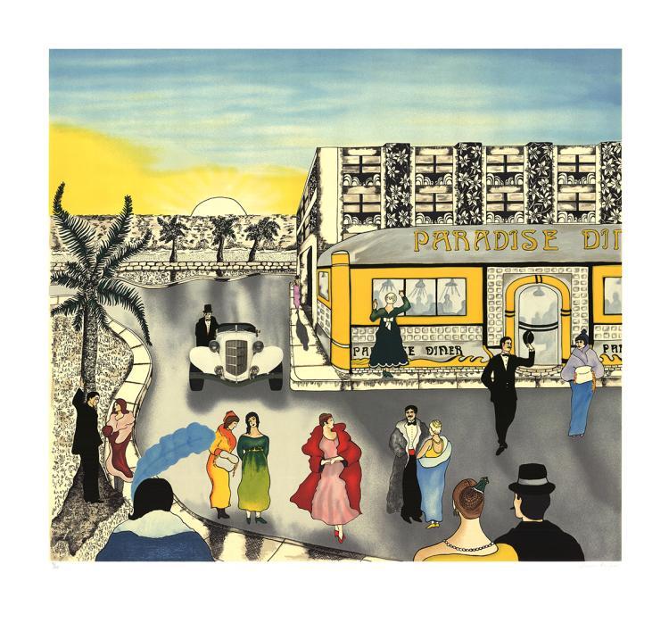Linnea Pergola - Paradise Diner - SIGNED