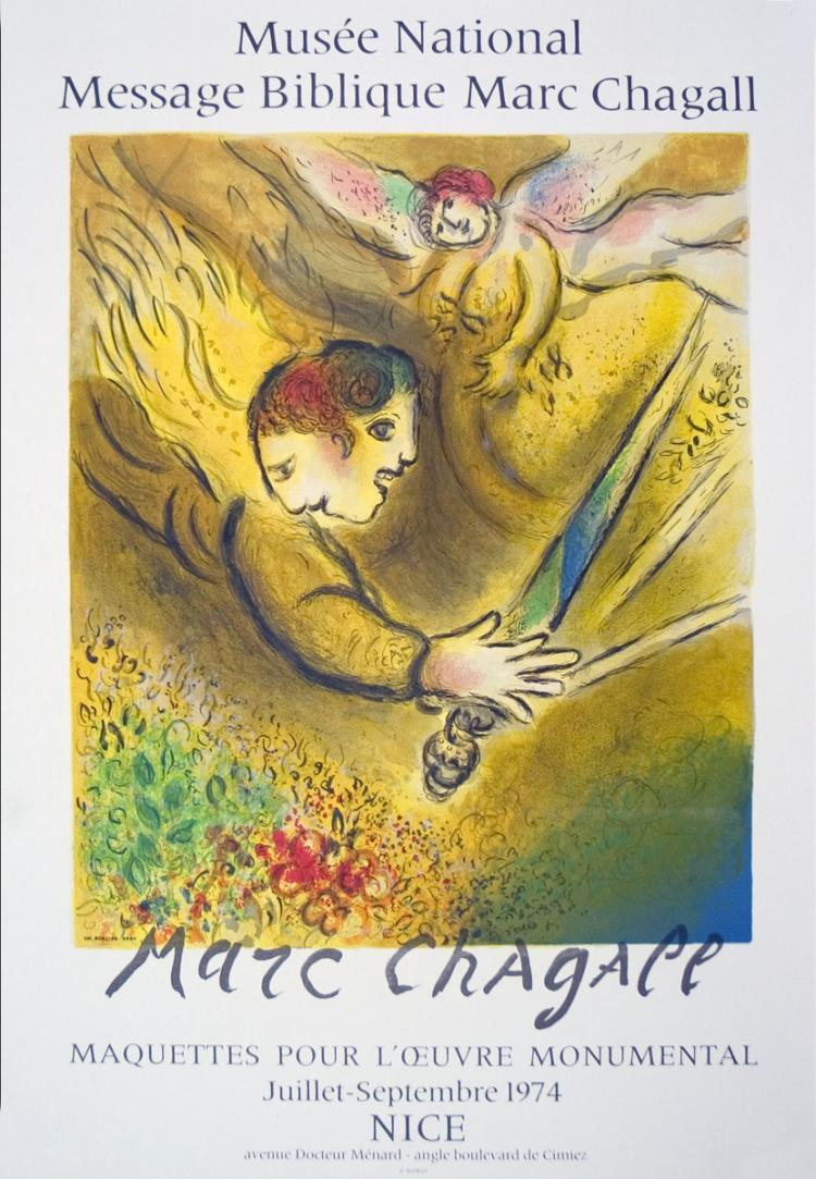 Marc Chagall - The Angel of Judgment - 1974