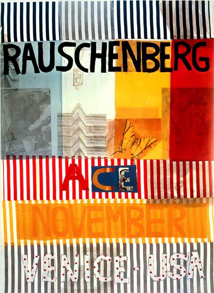 Robert Rauschenberg - Ace Gallery, Venice, California (lg) - 1977