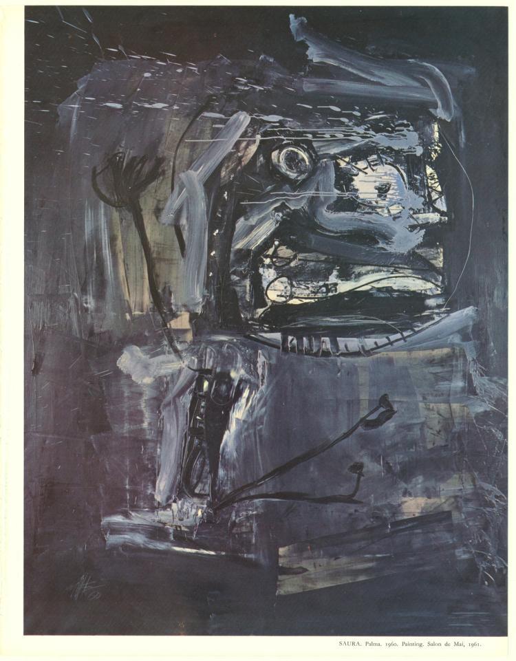 Antonio Saura - Palma - 1961